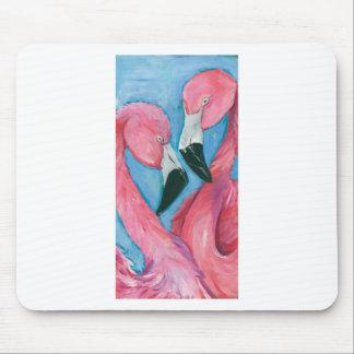 Mousepad Dois flamingos