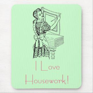 Mousepad Dona de casa alegre