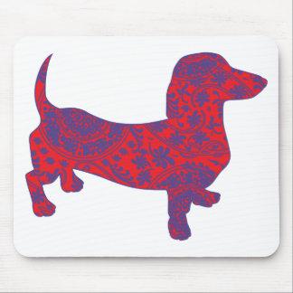 Mousepad Doxie no Reniassance-Teste padrão