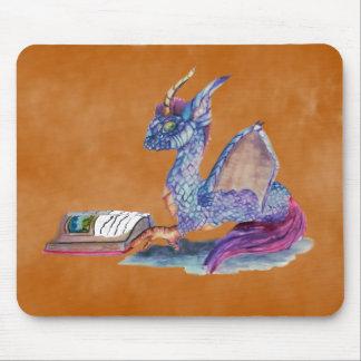 Mousepad Dragão da leitura