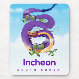 Mousepad Dragão de Incheon Coreia do Sul
