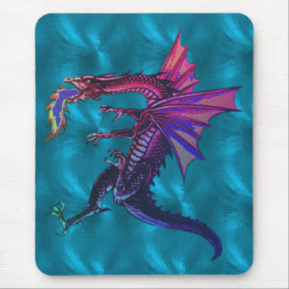 Mousepad Dragão do arco-íris