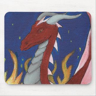 Mousepad Dragão vermelho