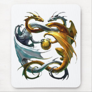 Mousepad Dragões da batalha