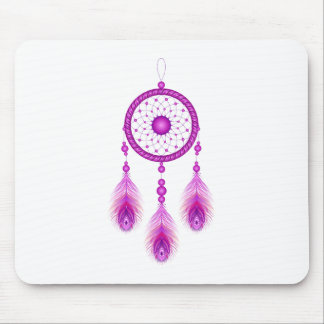 Mousepad Dreamcatcher cor-de-rosa