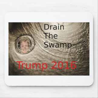 Mousepad Drene o design político de Trunfo-Clinton do