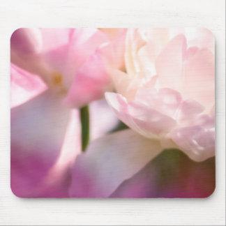 Mousepad Duas tulipas de florescência da peônia com toque