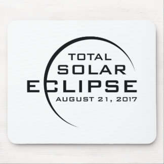 Mousepad Eclipse 2017 solar total