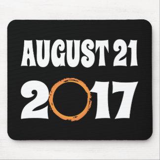 Mousepad Eclipse solar 21 de agosto de 2017 total