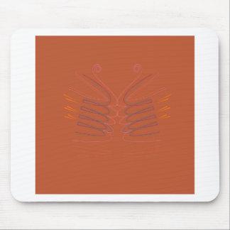 Mousepad Eco brilhante dos elementos do design