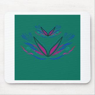 Mousepad Eco do verde da mandala do bem-estar
