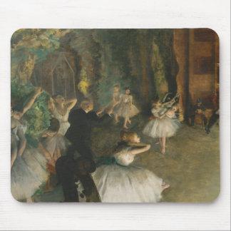 Mousepad Edgar Degas - o ensaio do balé em palco