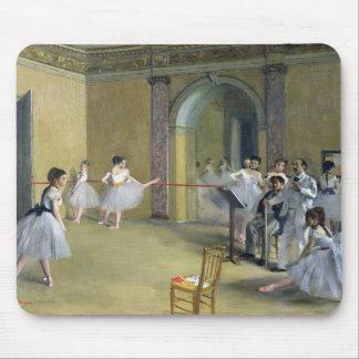 Mousepad Edgar Degas   o vestíbulo da dança na ópera