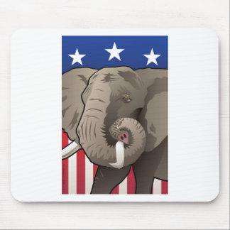 Mousepad Elefante dos EUA, orgulho republicano