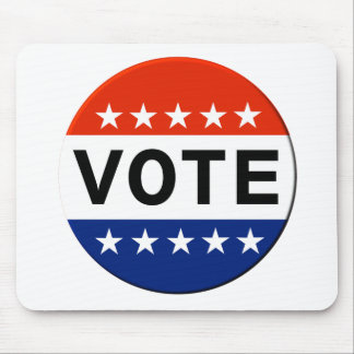 Mousepad Eleições Midterm do voto 2018