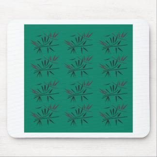 Mousepad Elementos de bambu de Eco do design