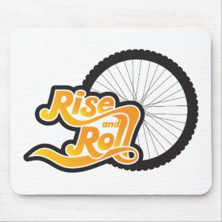 Mousepad elevação e ciclo do rolo