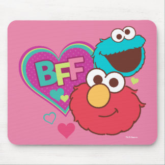 Mousepad Elmo & monstro do biscoito - BFF
