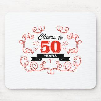 Mousepad Elogios a 50 anos
