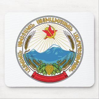 Mousepad Emblema da república socialista soviética arménia