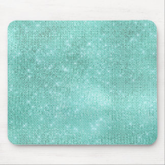 Mousepad Encanto brilhante do diamante de água-marinha do