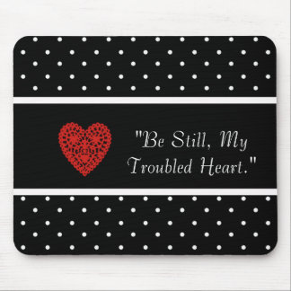 MOUSEPAD ENCOURAGE-LOVE_RED-HEART_TEMPLATE-VINTAGE-STYLISH