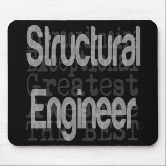 Mousepad Engenheiro estrutural Extraordinaire