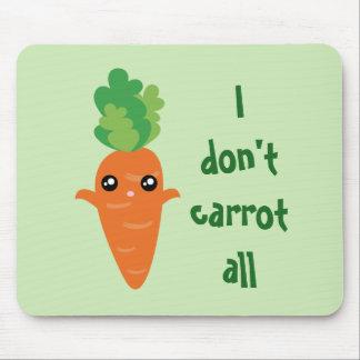 Mousepad Engraçado eu não faço cenoura todos os desenhos