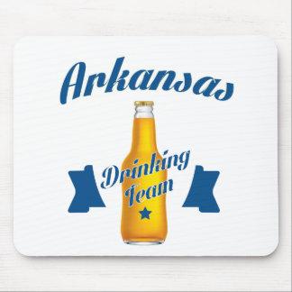 Mousepad Equipe do bebendo de Arkansas