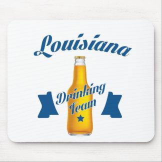 Mousepad Equipe do bebendo de Louisiana