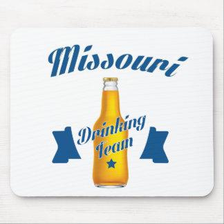 Mousepad Equipe do bebendo de Missouri