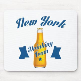 Mousepad Equipe do bebendo de New York