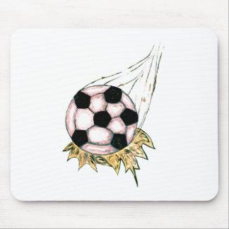 Mousepad Esboço da bola de futebol