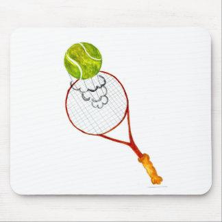 Mousepad Esboço da bola de tênis