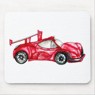 Mousepad Esboço do carro desportivo