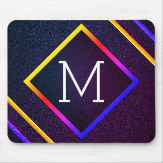 Mousepad Esboços à moda do roxo & do arco-íris com
