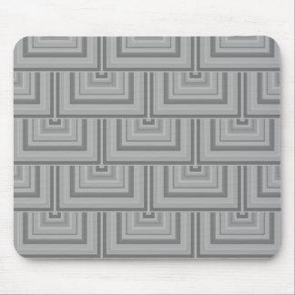 Mousepad Escalas cinzentas do quadrado