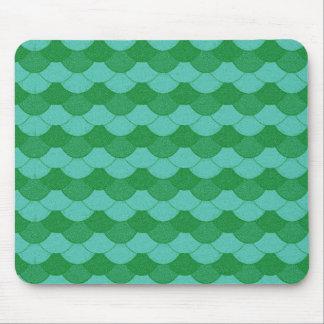 Mousepad Escalas verdes da sereia