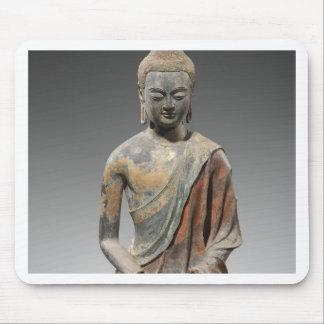Mousepad Escultura descolorada de Buddha - dinastia de Tang