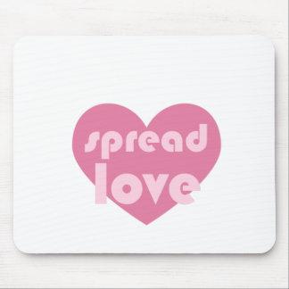 Mousepad Espalhe o amor (geral)
