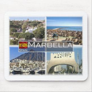 Mousepad Espanha do ES - Marbella - praia Costa del Sol -