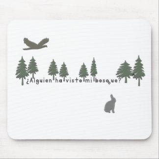Mousepad Espanhol-Floresta