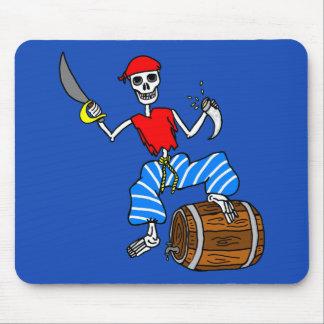 Mousepad Esqueleto do pirata