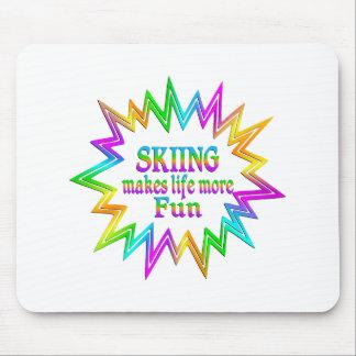 Mousepad Esquiando mais divertimento