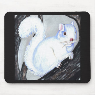 Mousepad Esquilo bonito do albino