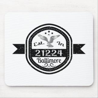 Mousepad Estabelecido em 21224 Baltimore