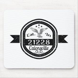 Mousepad Estabelecido em 21228 Catonsville