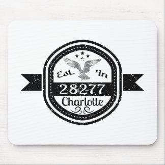 Mousepad Estabelecido em 28277 Charlotte