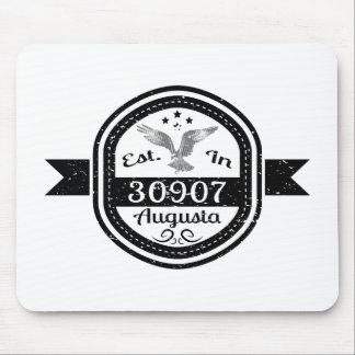 Mousepad Estabelecido em 30907 Augusta