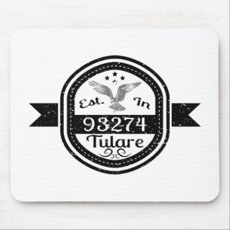 Mousepad Estabelecido em 93274 Tulare